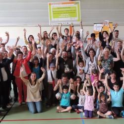 Lancement du défi Familles à énergie positive à l'Isle d'Abeau le 28 novembre 2015