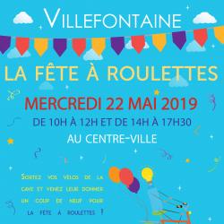 Fête à roulettes de Villefontaine le mercredi 22 mai 2019