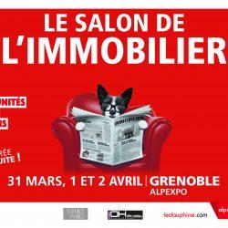 Salon de l'immobilier de Grenoble du 31 mars au 2 avril 2017