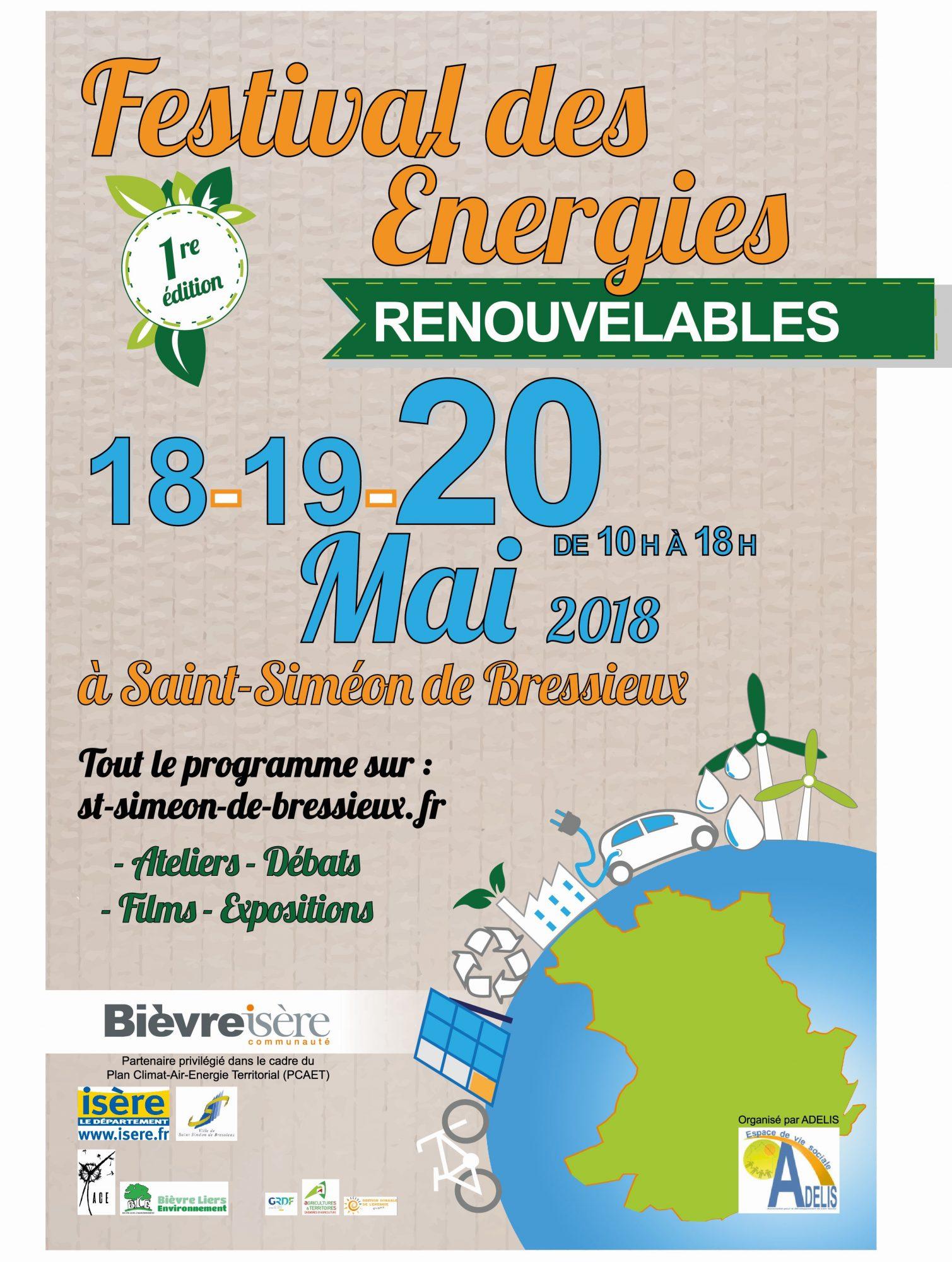 Festival des énergies renouvelables à Saint-Siméon-de-Bressieux