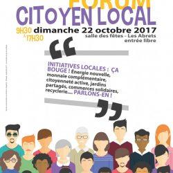 6ème Forum Citoyen Local aux Abrets le 22 octobre
