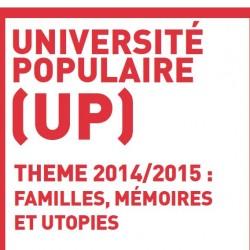 Cycle de conférences autour des « utopies comme chemins du/des possibles » entre le 19 mars et le 21 mai 2015