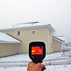 Visualisez les déperditions d'énergie grâce à la caméra thermique à Autrans-Méaudre en Vercors le 27 février