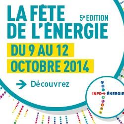 La fête de l'énergie du 9 au 12 octobre : un vélo électrique à gagner !