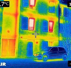 Soirée thermographique : caméra infra-rouge et déperditions de chaleur à Primarette le 1er mars