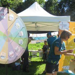 Fête à roulettes de Villefontaine – animation «la roue des économies d'énergie»