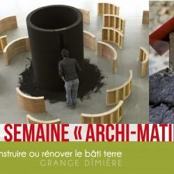 Semaine Archi-Matière du Pays Voironnais du 8 au 14 Juin