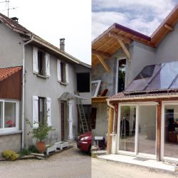 Visite d'une rénovation performante à Dolomieu