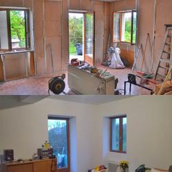 Visite d'une maison en pierre : rénovation performante – le 5 décembre 2015 à Porcieu-Amblagnieu