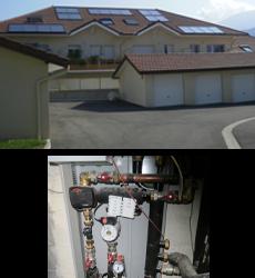 Visite de site : solaire thermique sur logement collectif (eau chaude + chauffage) – 27 novembre