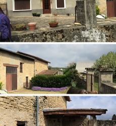 Visite d'un chantier de rénovation à l'Isle d'Abeau le 25 juin