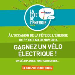 La fête de l'énergie : un vélo électrique à gagner !