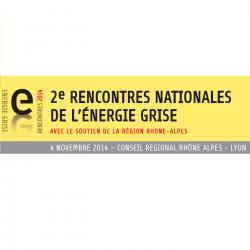 Rencontres Nationales de l'Energie grise le 4 novembre 2014 à Lyon