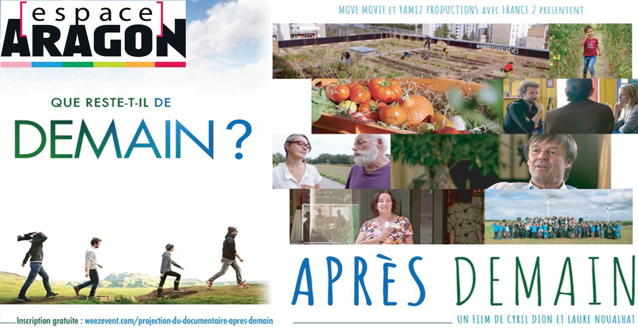 Ciné-débat autour du film «Après-demain» de Cyril Dion et Laure Noualhat