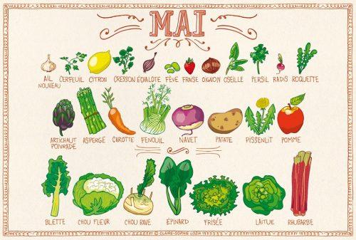 Calendrier Des Legumes.J 33 Je Me Procure Un Calendrier Des Fruits Et Legumes De
