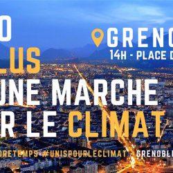 Marches pour le climat : Grenoble et Lyon ce samedi !