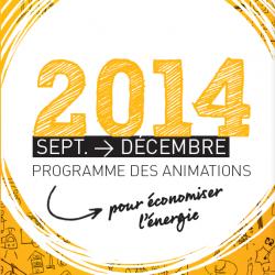 Le programme d'animation septembre-décembre est arrivé !