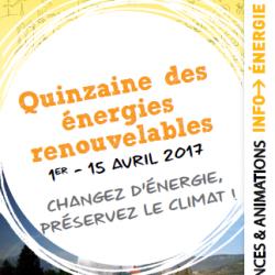 Quinzaine des énergies renouvelables en Grésivaudan