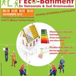 Rencontres de l'éco-bâtiment dans le Pays Voironnais et le Sud-Grésivaudan – du 19 au 22 novembre