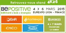 Conférence sur le bilan SEAP_Alps au salon BePositive à Lyon le 6 mars 2015