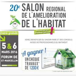 Stand Info Energie à Saint-Marcellin : salon de l'habitat les 5 et 6 mars