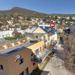Nouvelle visite virtuelle : construction d'un habitat partagé avec installation solaire photovoltaïque et thermique en tiers financement